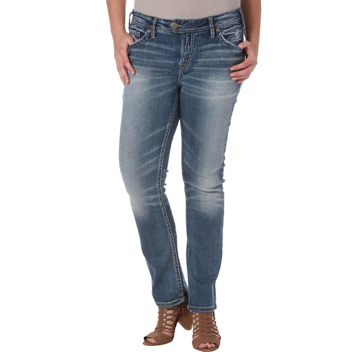 e19ddcb01da Silver Jeans Co. Plus Size Tuesday Low Slim Boot Jeans
