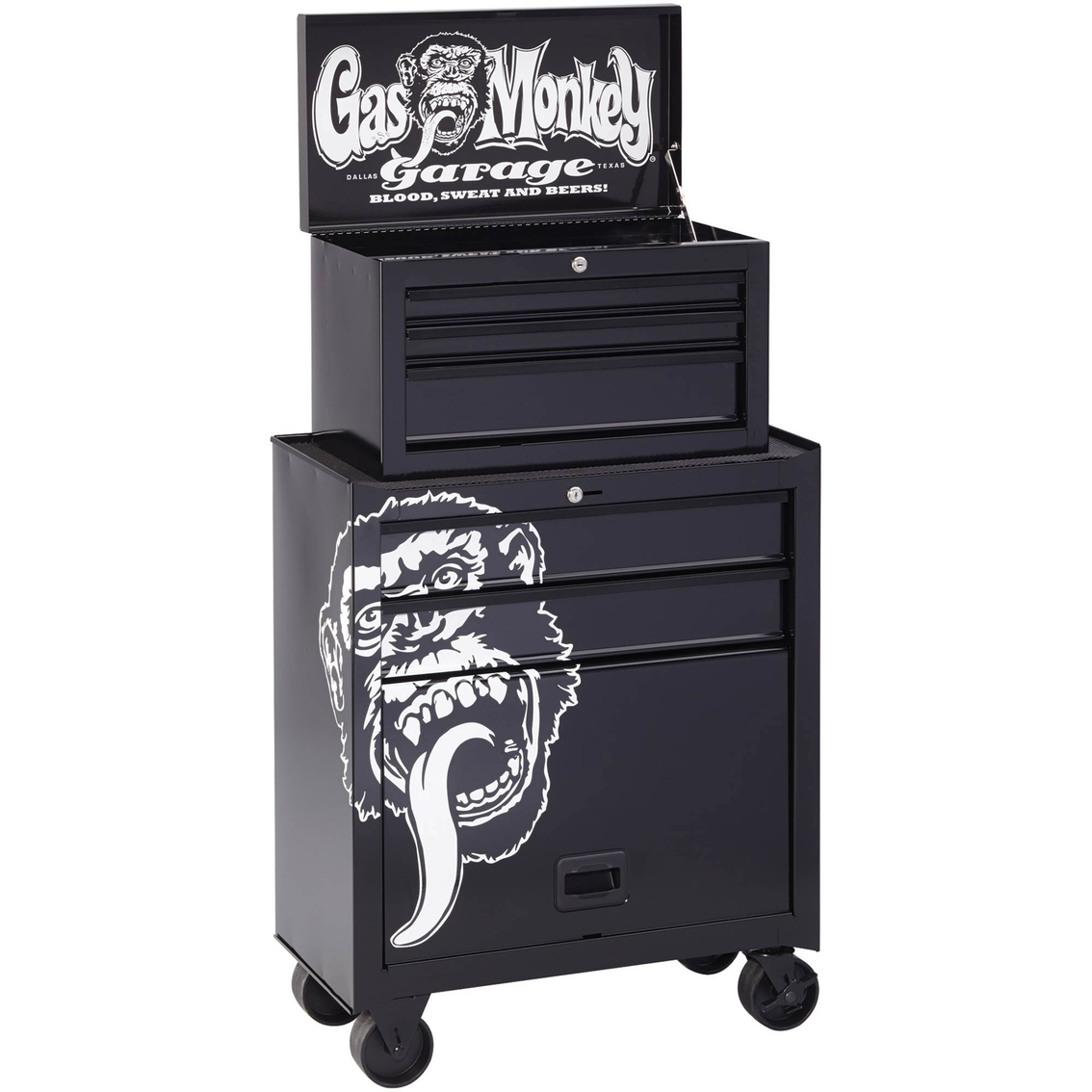 gas monkey garage 5 drawer tool center tool boxes. Black Bedroom Furniture Sets. Home Design Ideas