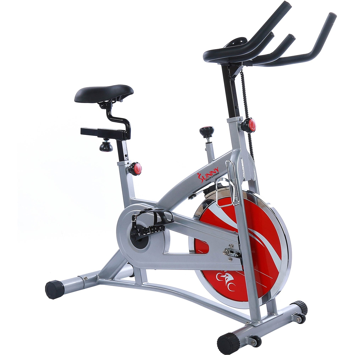 Sunny Health And Fitness Indoor Cycling Bike With Lcd