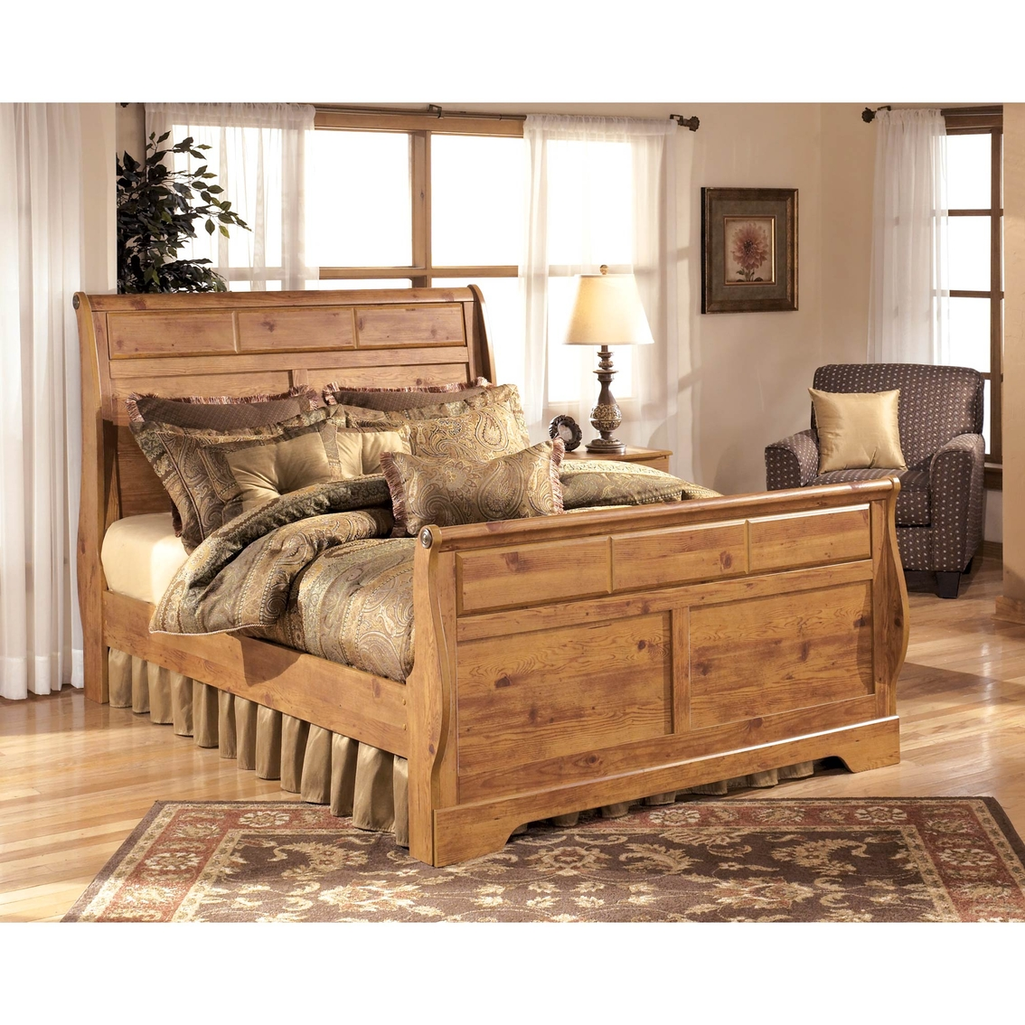 Signature Design By Ashley Bittersweet Sleigh Bed Beds