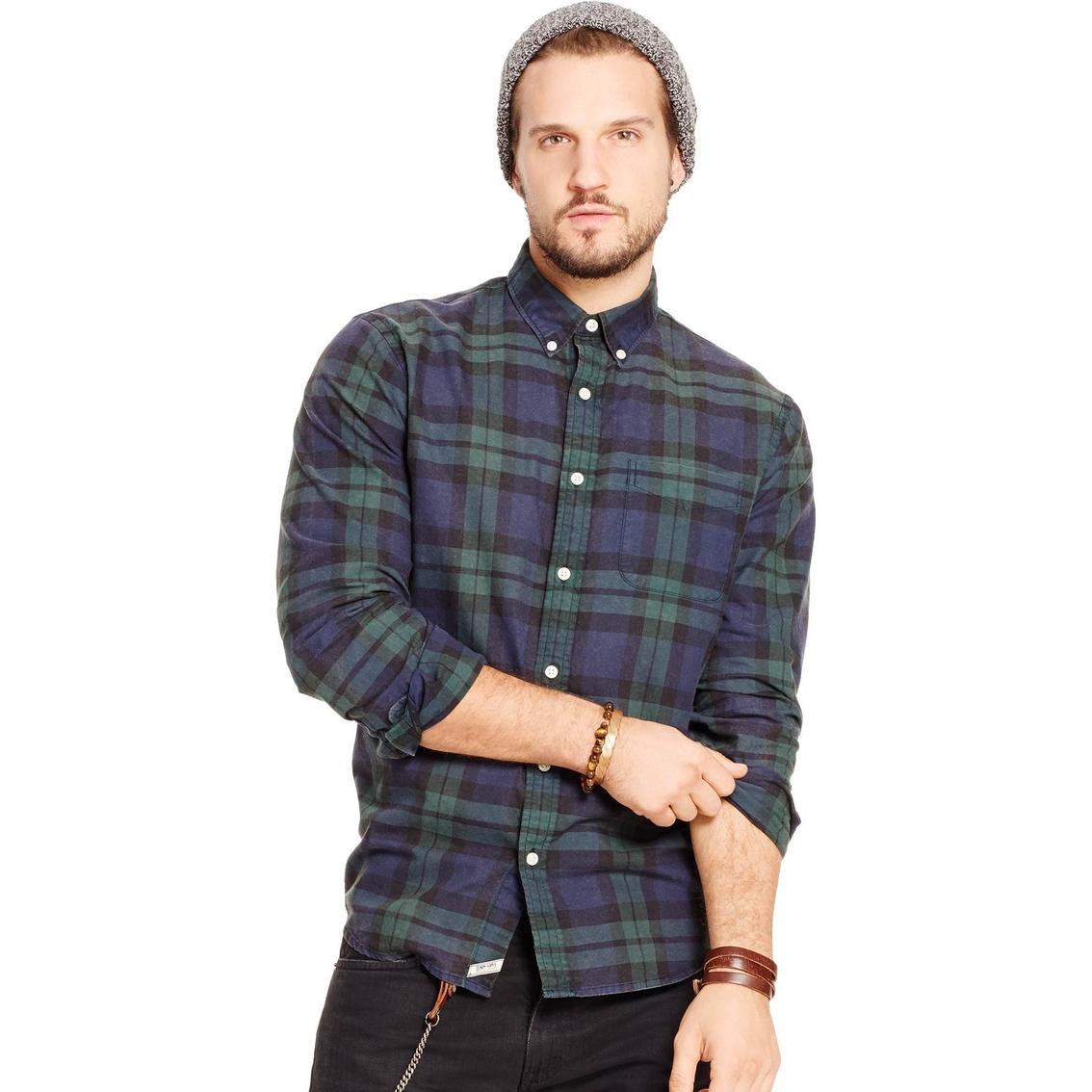 7d2ce31c84 Denim   Supply Ralph Lauren Cotton Plaid Sport Shirt