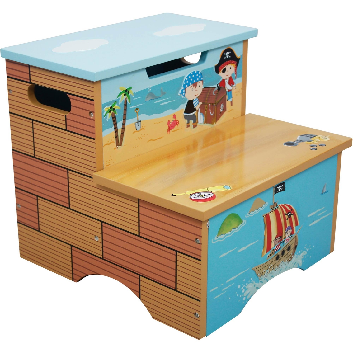 Fantasy Fields Pirates Island Step Stool Chairs Amp Play