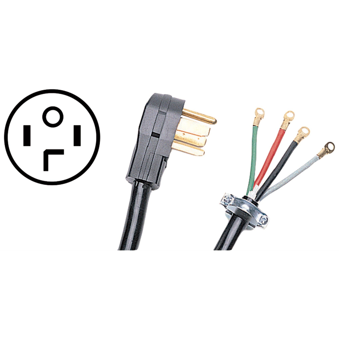 Peachy Certified Appliance 4 Ft 4 Wire Petra Dryer Cord Washers Dryers Wiring Digital Resources Jebrpkbiperorg