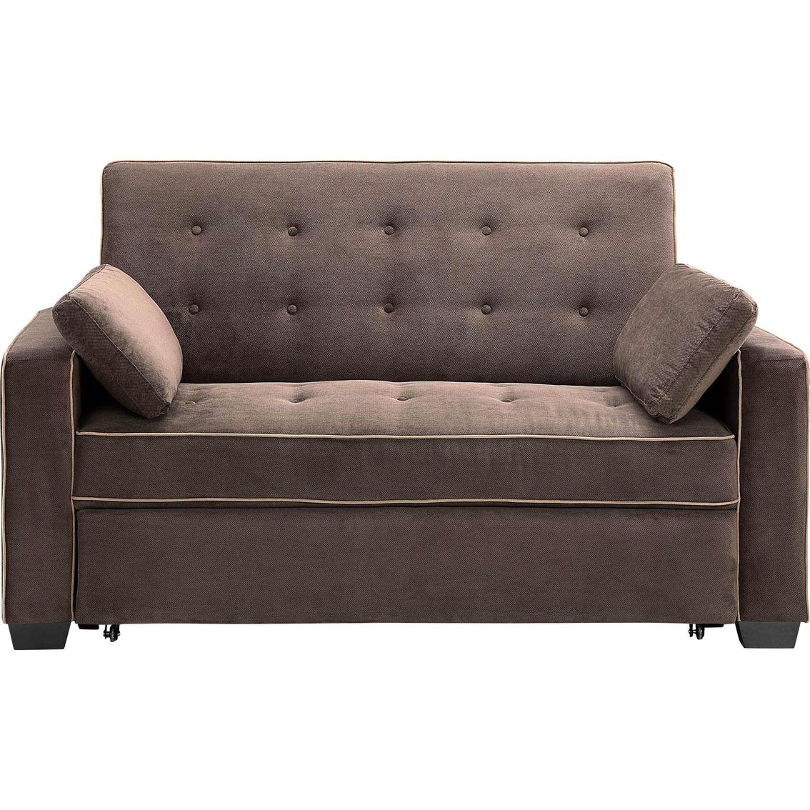 Serta Augustine Convertible Full size Sleeper Sofa   Sofas ...