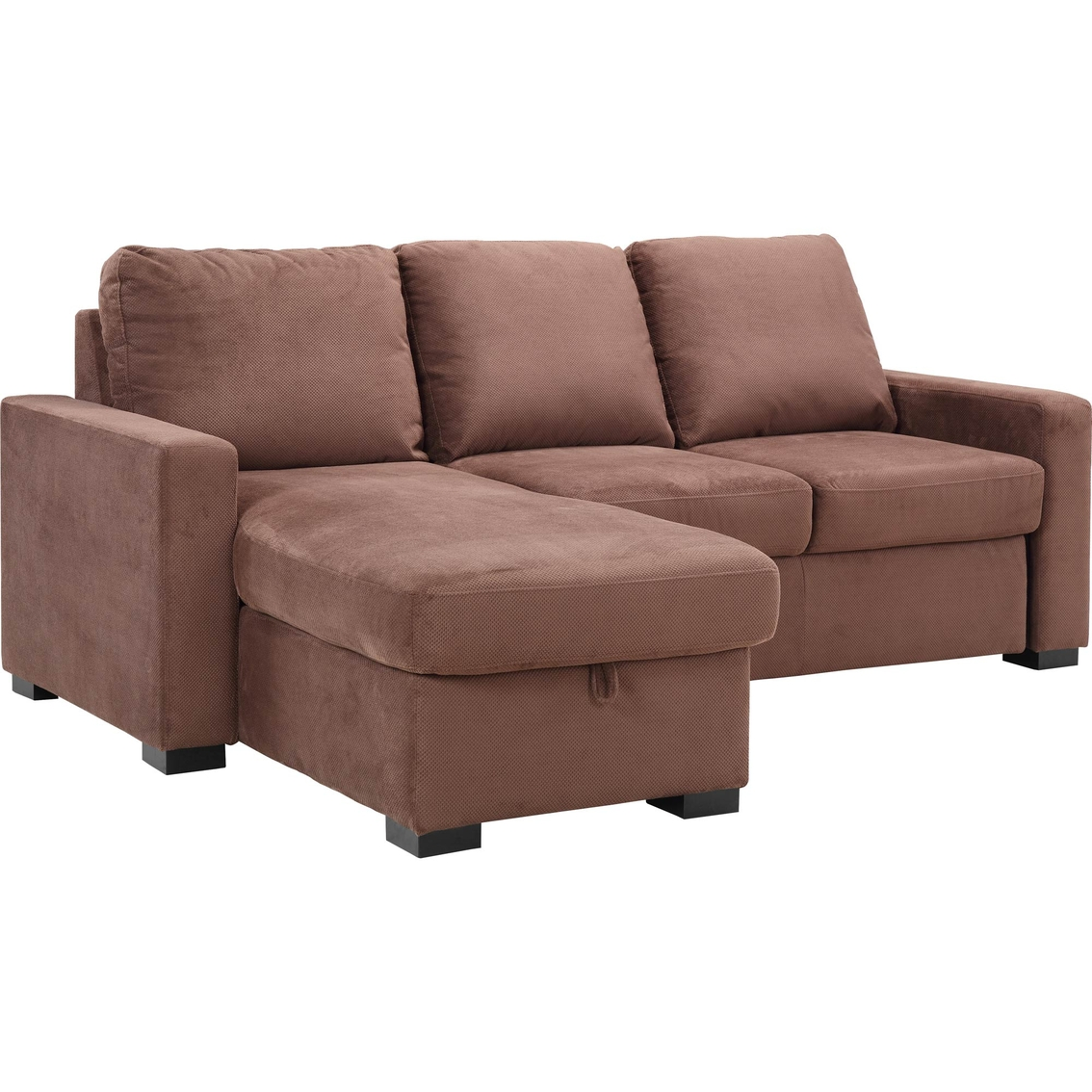 Serta chester convertible sleeper chaise sofa serta for Chaise convertible