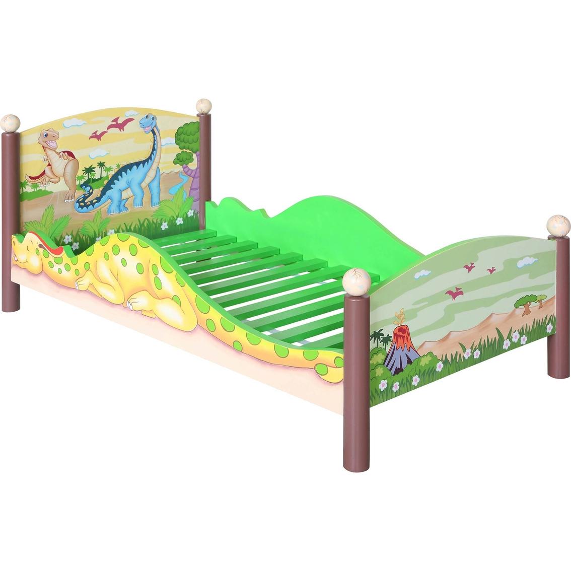 Fantasy Fields Dinosaur Kingdom Toddler Bed Frame   Bedroom ...