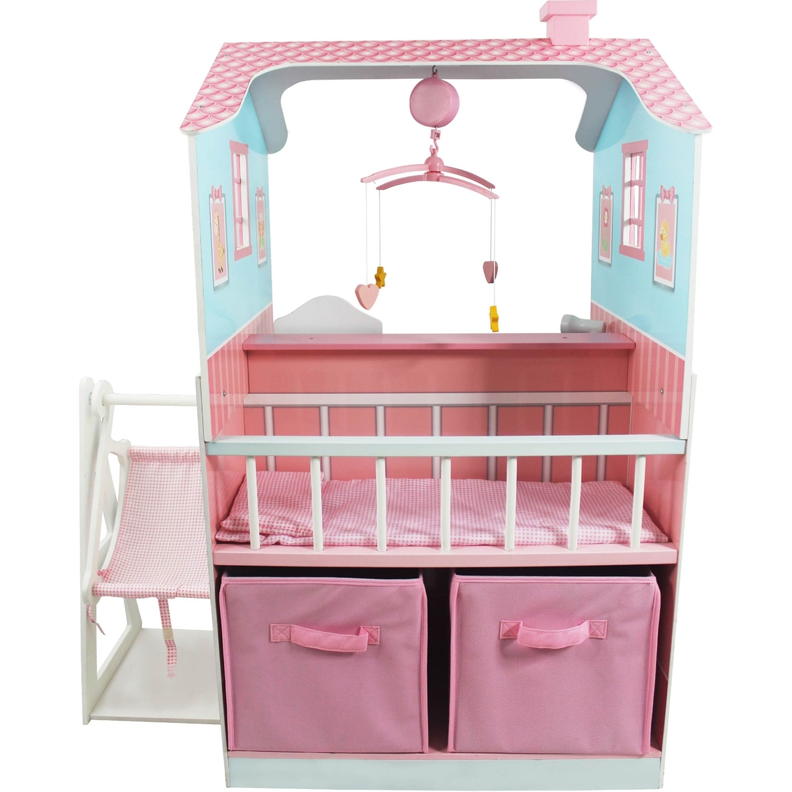 Teamson kids baby nursery play set doll playsets baby amp toys