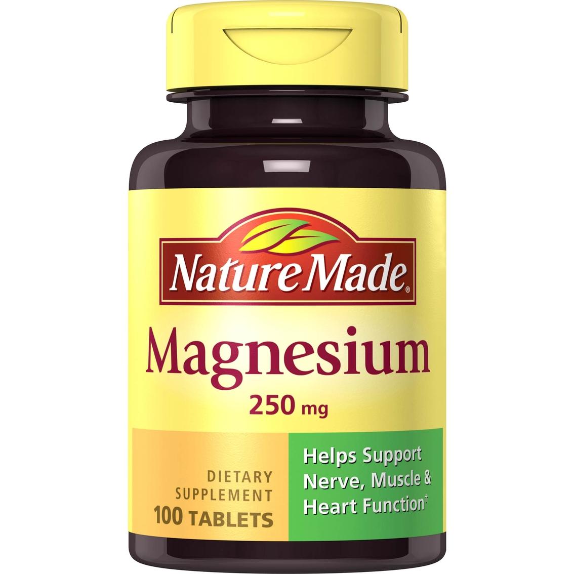 magnesium 250 mg nature tablets ct vitamins health shopmyexchange