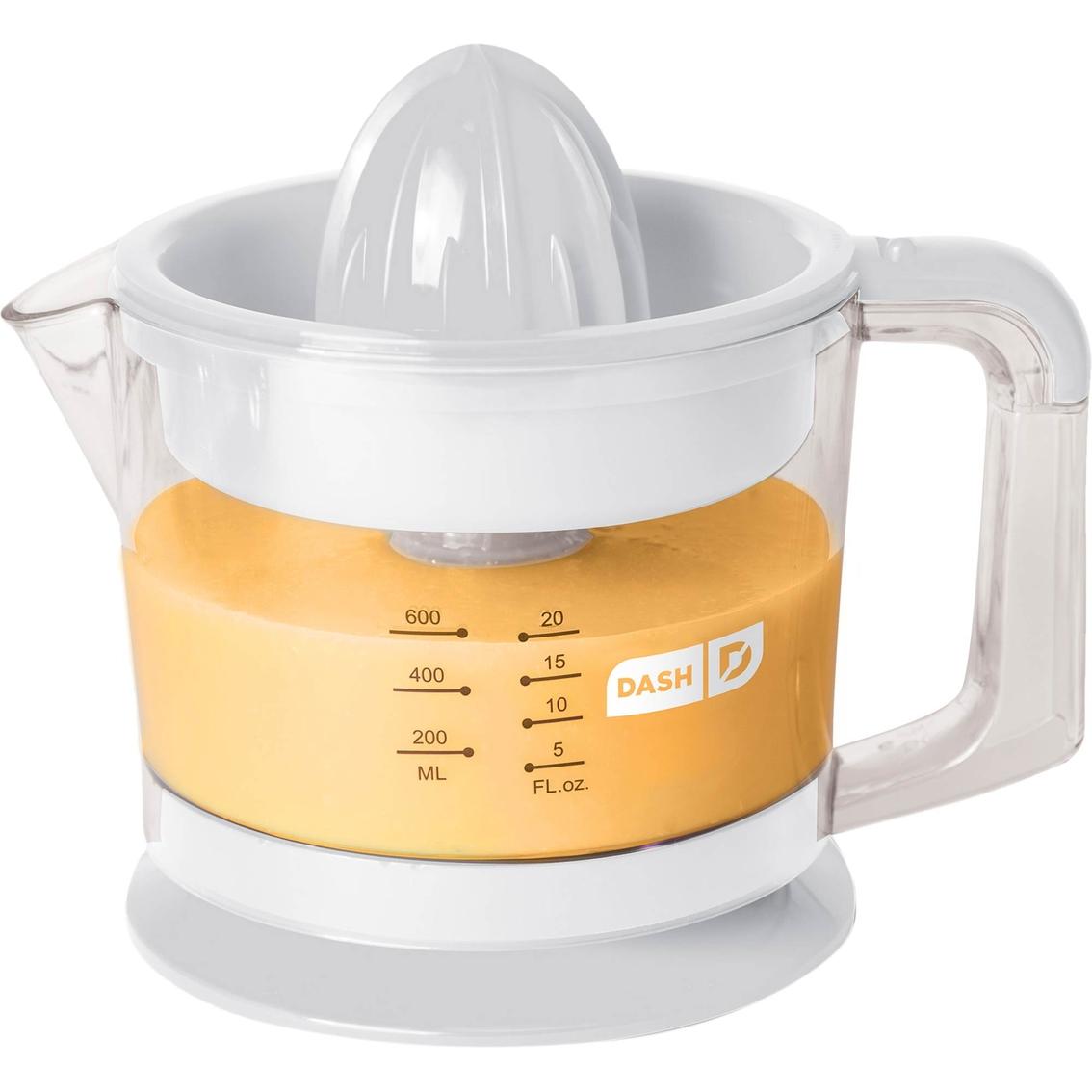 Electric Citrus Reamer ~ Dash go electric qt citrus juicer reamer juicers