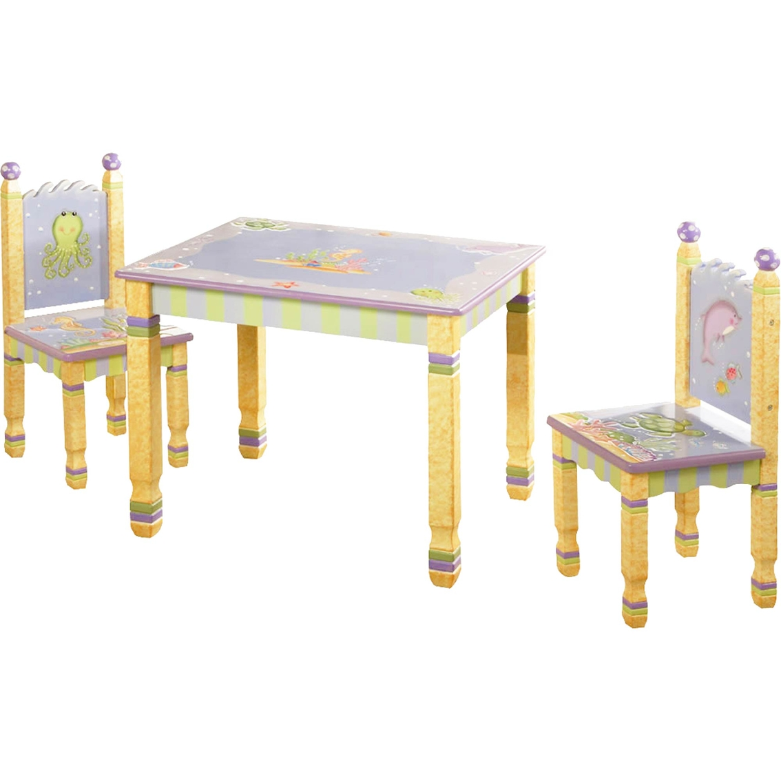 Fantasy Fields Under The Sea Table And Chairs 3 Pc. Set
