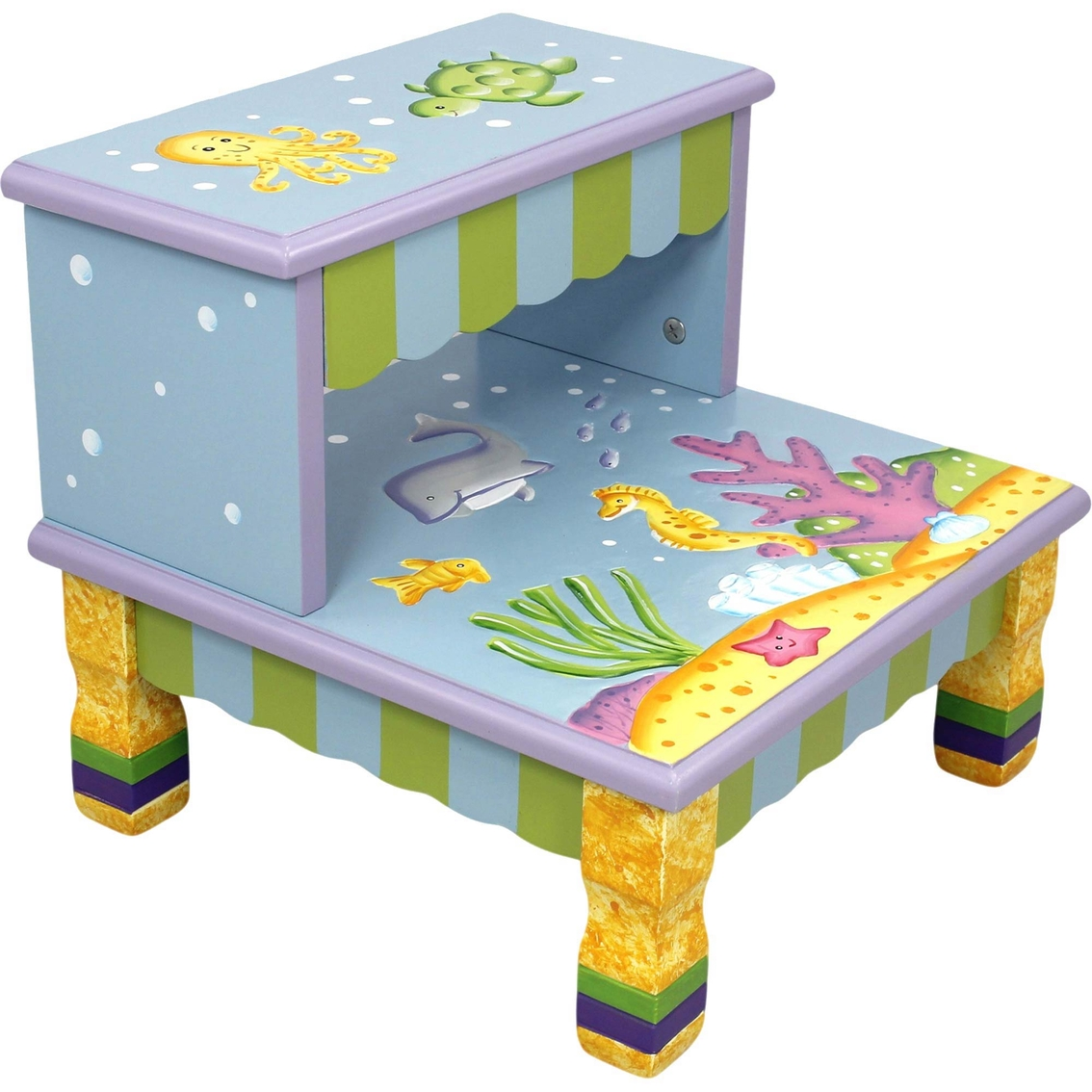 Fantasy Fields Under The Sea Step Stool
