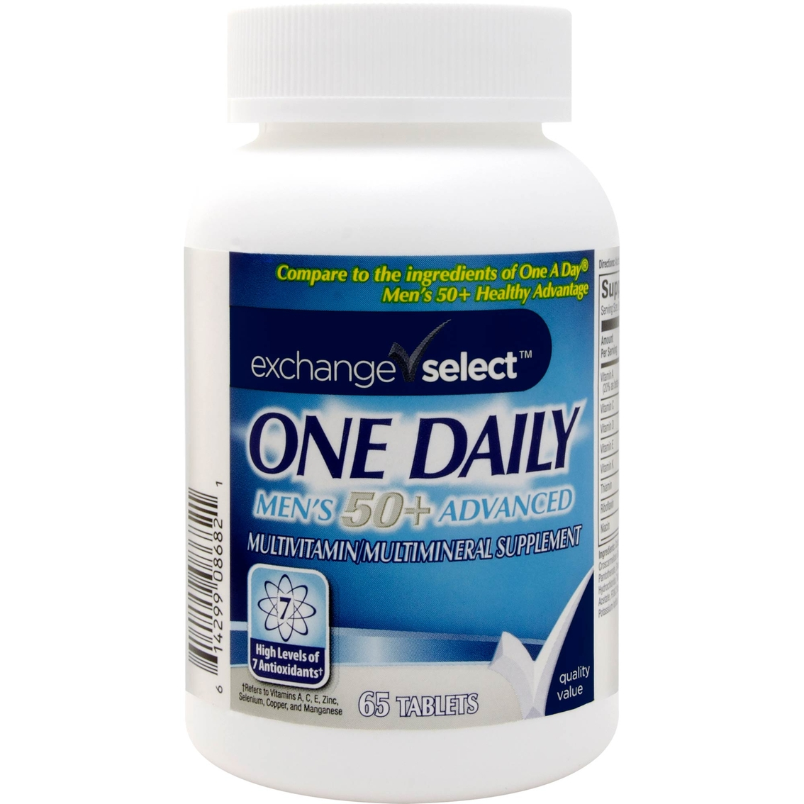 Exchange Select One Daily Men S 50 Multivitamin Multimineral Tablet 65 Ct Vitamins Beauty Health Shop The Exchange