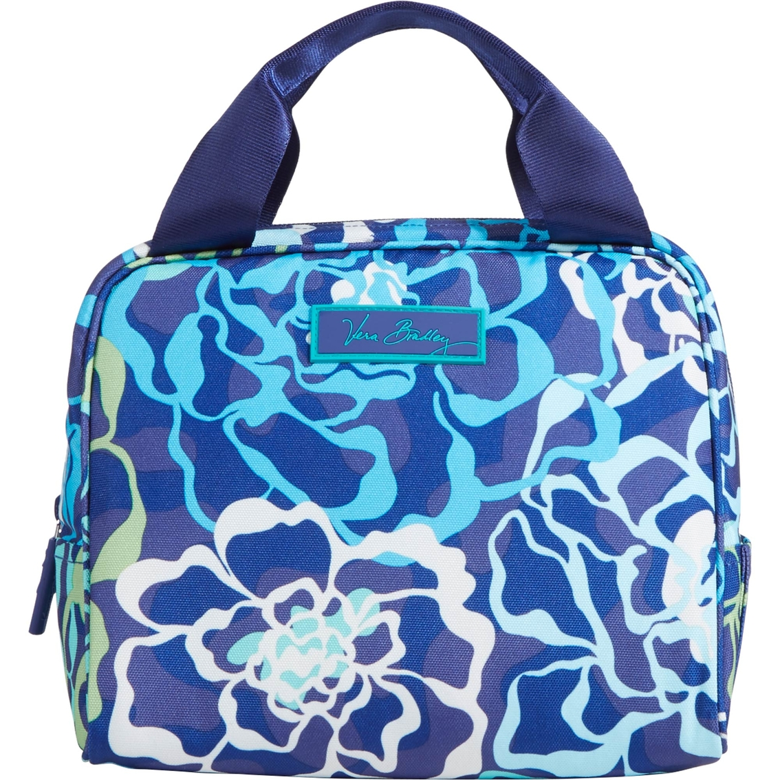 Vera Bradley Lighten Up Lunch Cooler Bag Katalina Blues