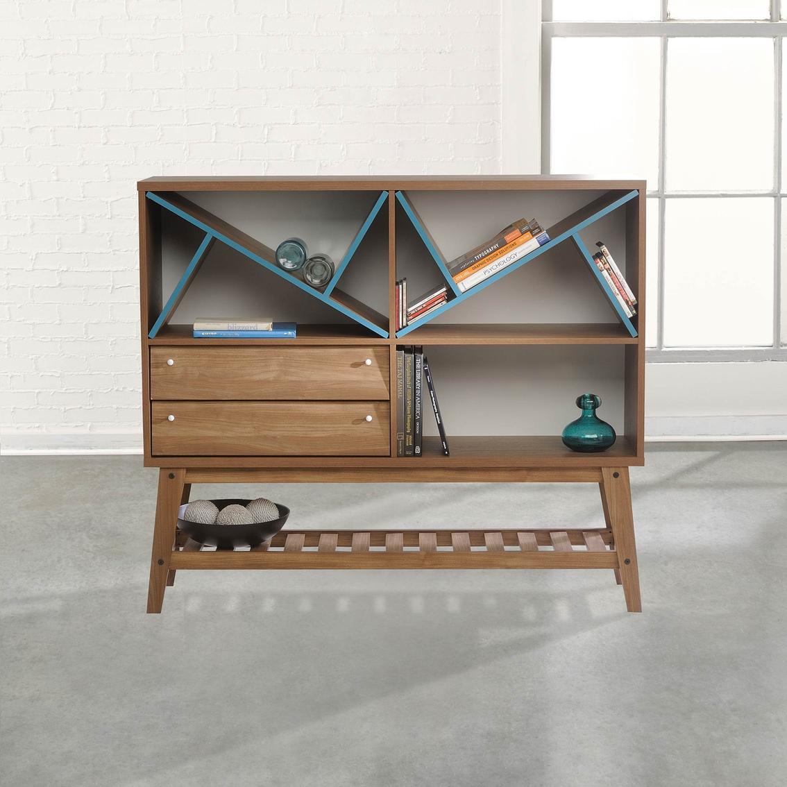 Sauder Soft Modern Sideboard Cabinet Bookcases Cabinets Home
