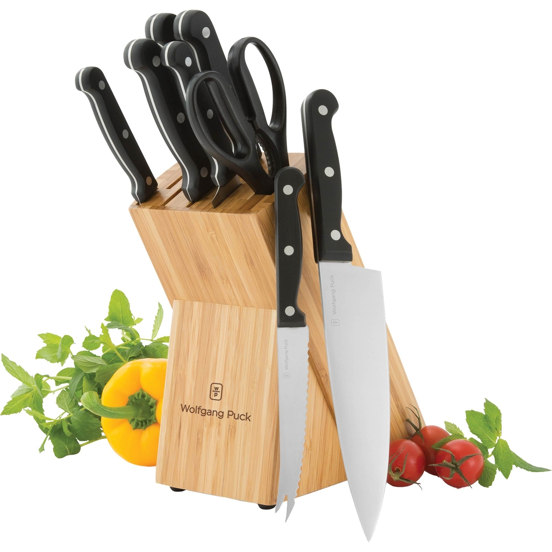 puck kitchen knives wolfgang puck 9 pc cutlery set cutlery sets home