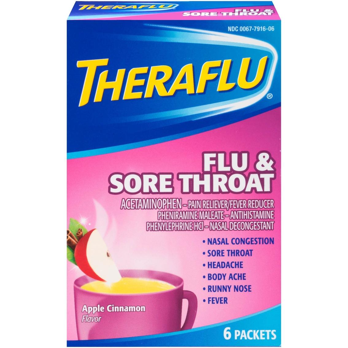 How does theraflu work