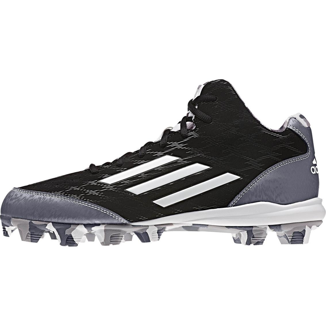 Adidas Uomini Campo 3 Metà Tagliato Scarpe Da Baseball Baseball Scarpe