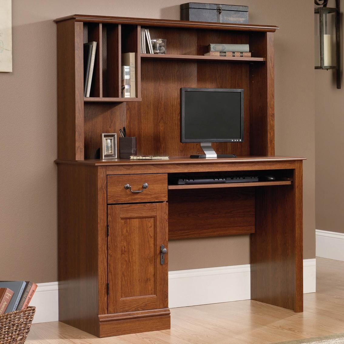 - Sauder Camden Computer Desk With Hutch Desks Home Office