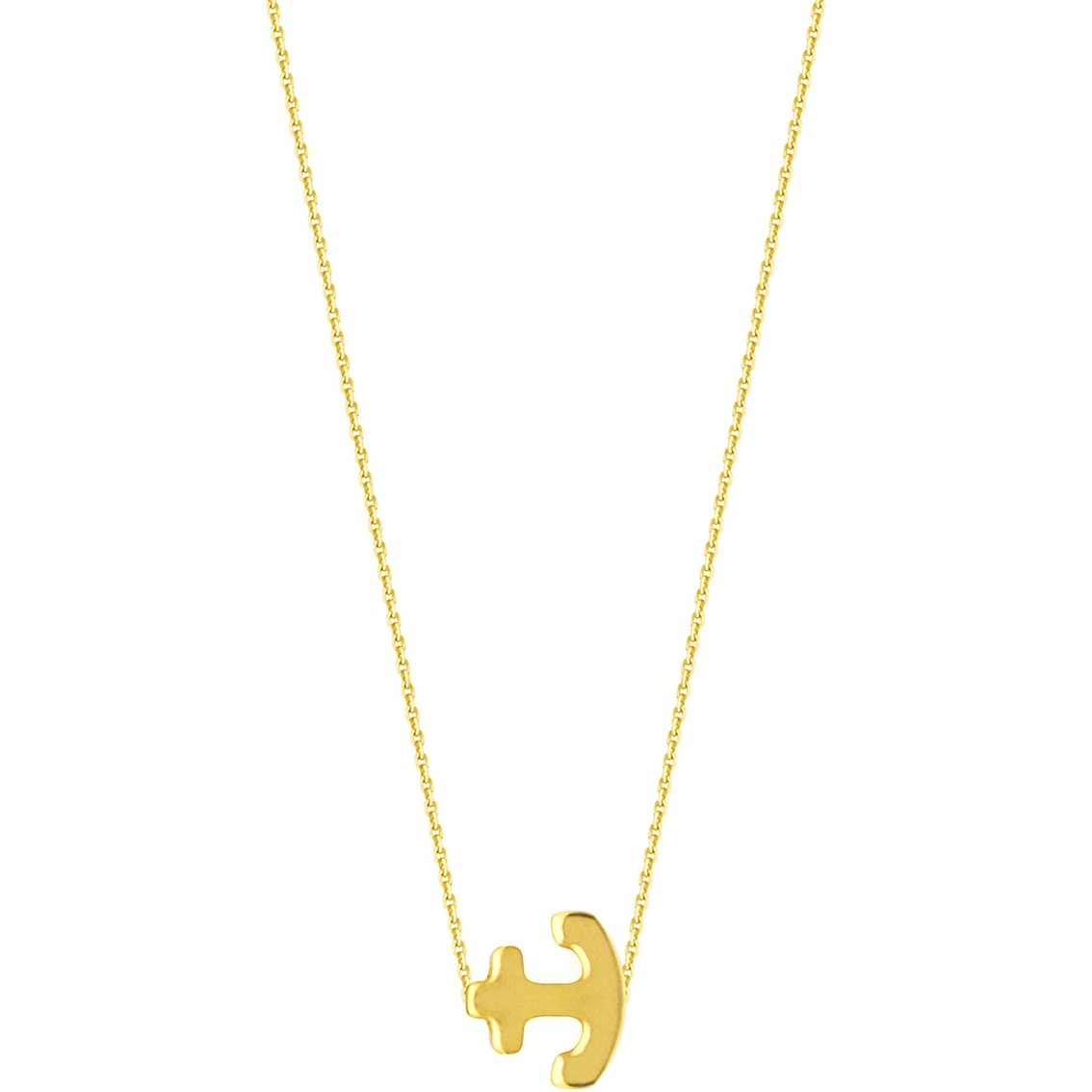 Midas chain 14k yellow gold round nameplate necklace gold midas chain 14k yellow gold round nameplate necklace aloadofball Images