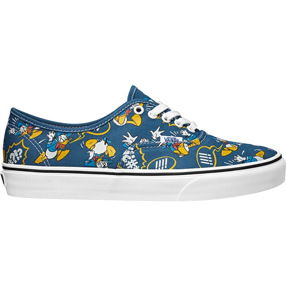 1c6388a7c0 Vans Men s Donald Duck Disney Authentic Shoes