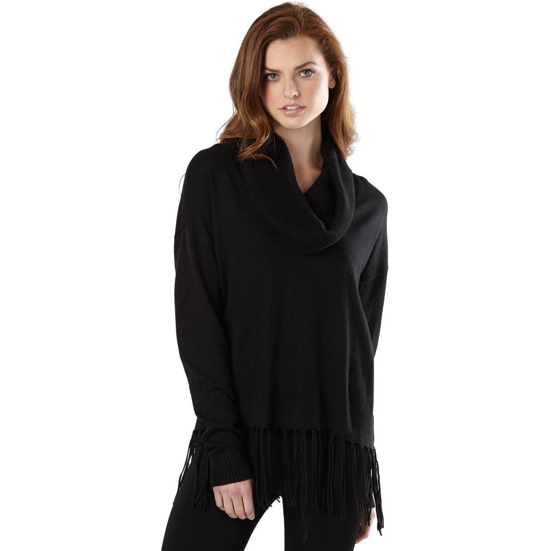 Michael Kors Fringe Hem Cowl Neck Sweater | Apparel | Apparel ...