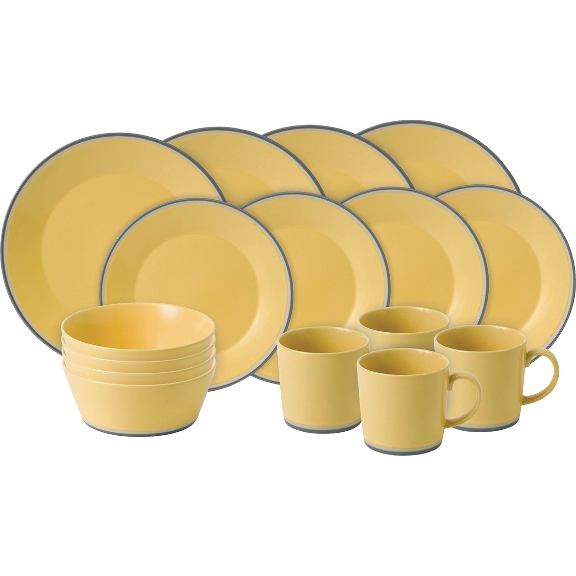 Royal Doulton Colours Yellow 16 Pc. Dinnerware Set   Dinnerware & Completer Sets   Home ...
