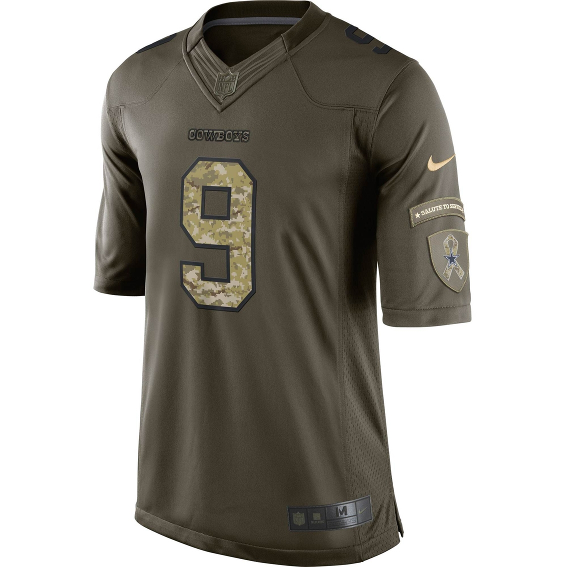 wholesale dealer e06ed a4364 Nike Nfl Dallas Cowboys Salute To Service Romo Jersey ...