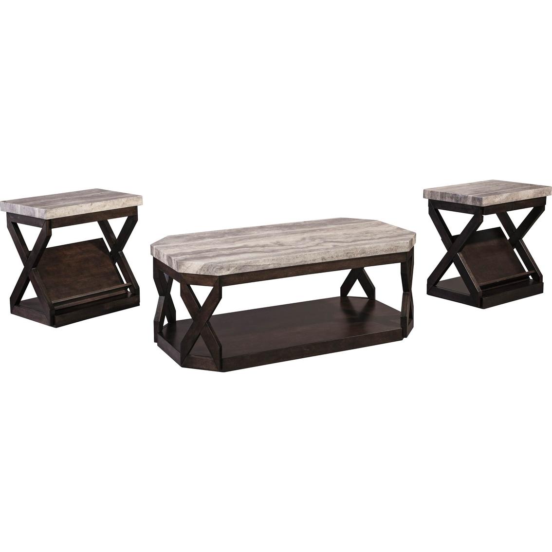 Ashley Radilyn 3 Pc. Table Set | Living Room Tables | Home ...