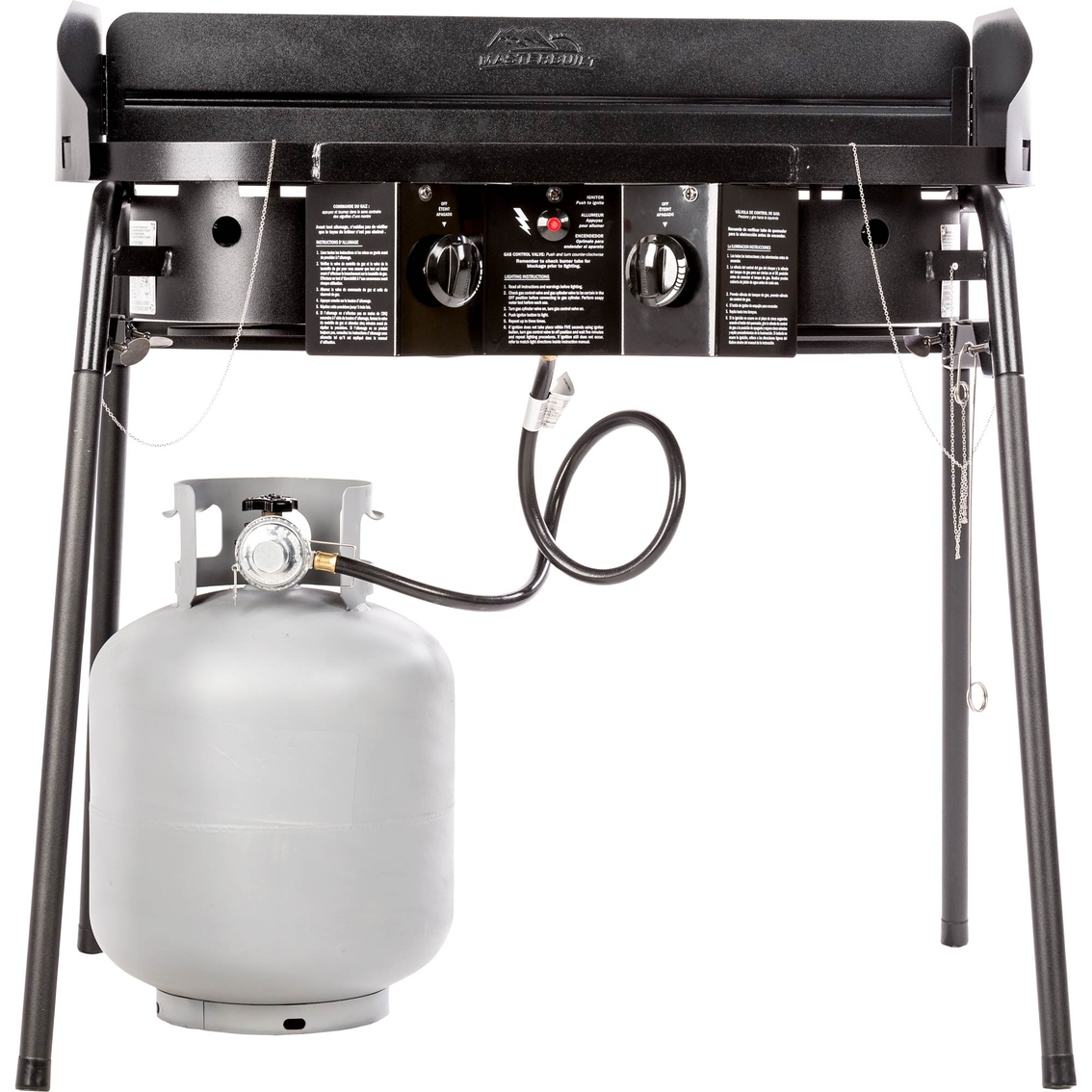 Masterbuilt Double Burner Camp Stove | Cooking | Sports & Outdoors ...