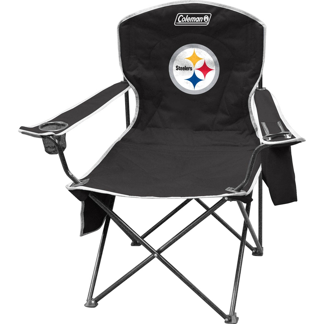 Jarden Sports Licensing NFL Pittsburgh Steelers Cooler Quad Chair