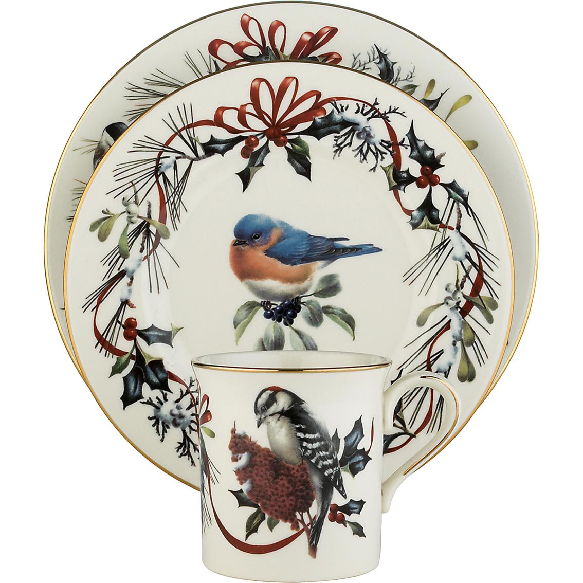 Lenox winter greetings 12 piece set dinnerware sets home lenox winter greetings 12 piece set m4hsunfo