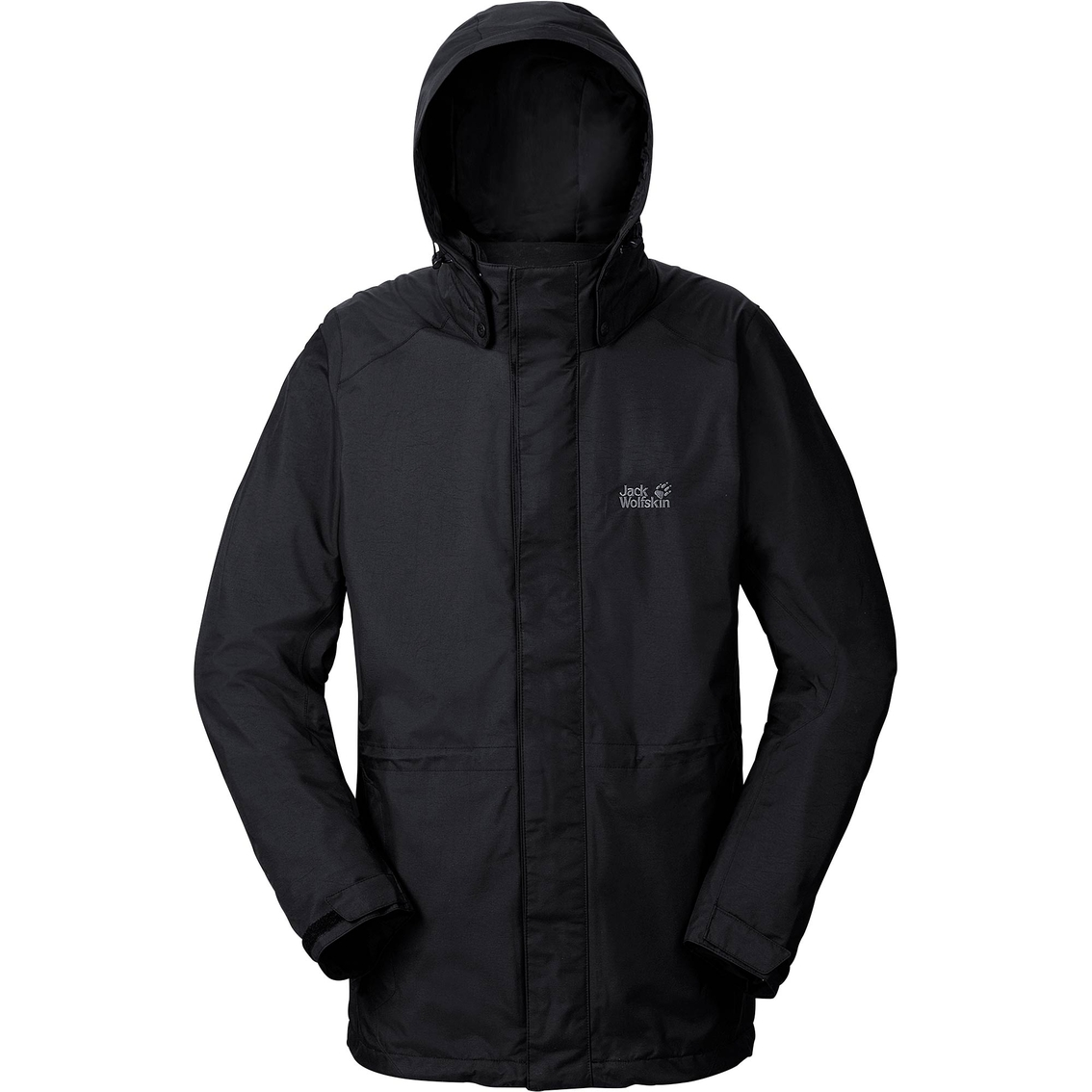 Jack Wolfskin Amply Texapore Jacket, Black | Jackets