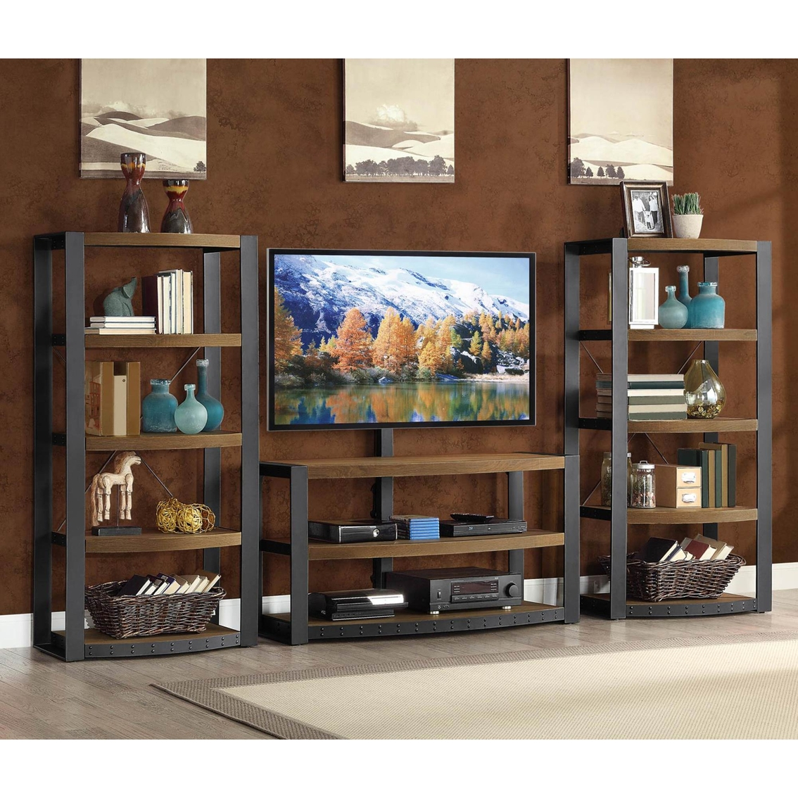 Whalen Furniture Santa Fe Audio Tower Media Furniture Home