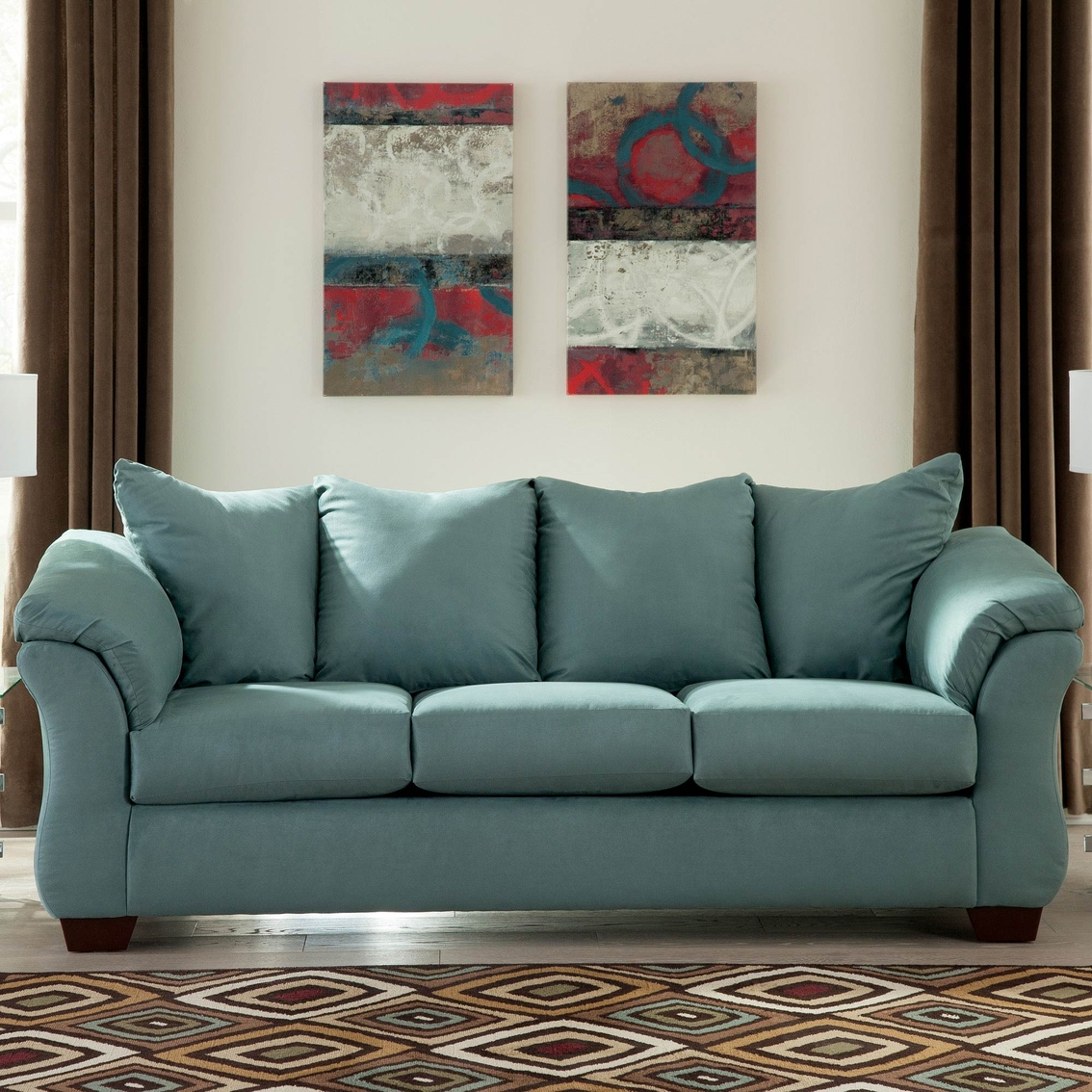 Signature Design By Ashley Darcy Sofa Sofas Couches Home Appliances Shop The Exchange