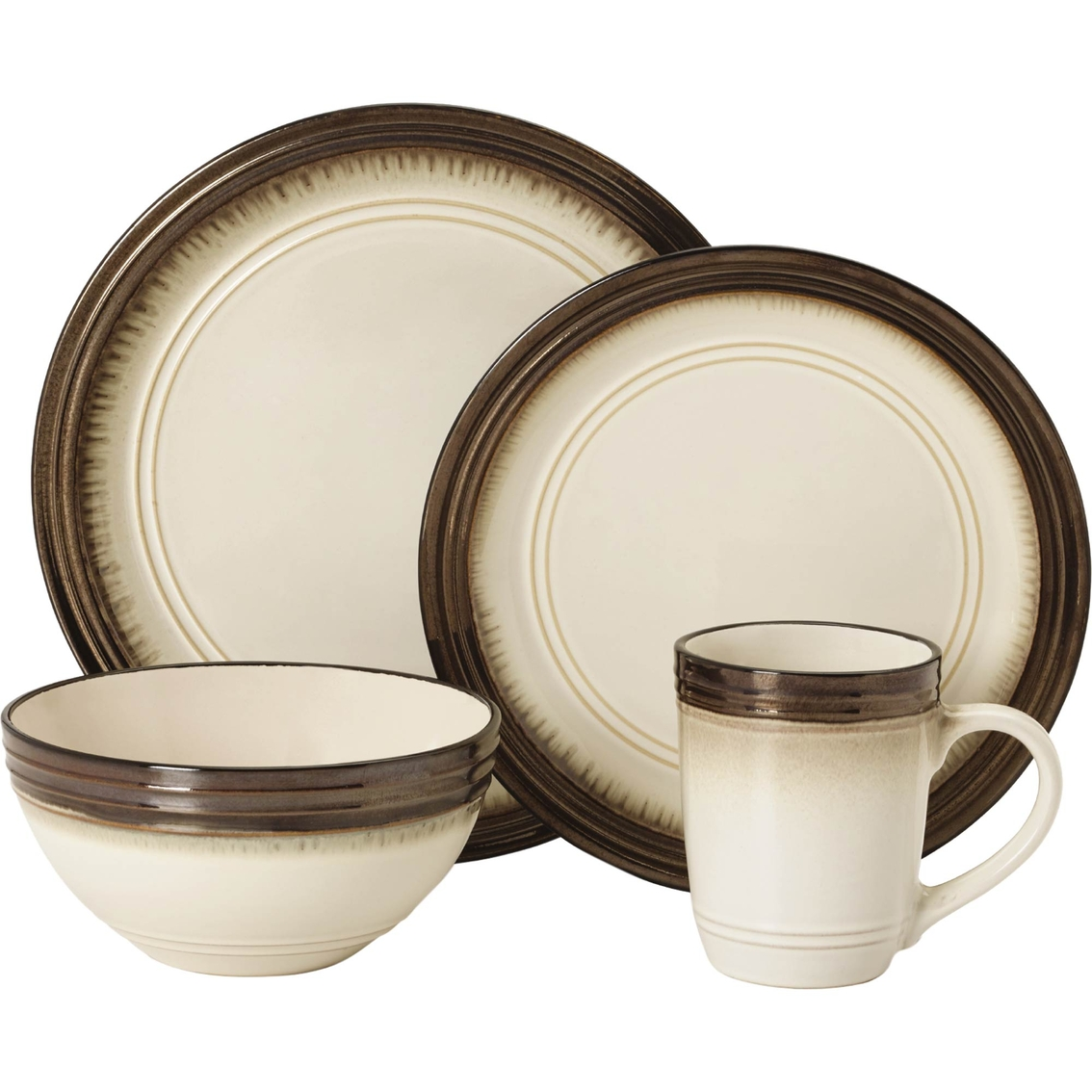 3116  sc 1 st  ShopMyExchange.com & Mikasa Bailey 16 Pc. Dinnerware Set | Dinnerware Sets | Home ...