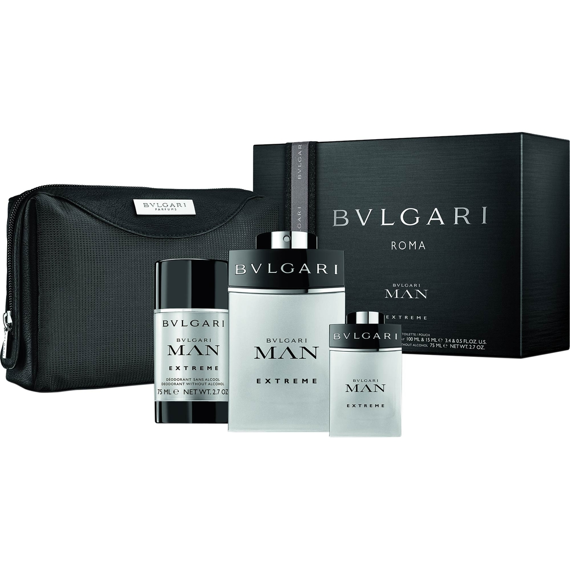 Bvlgari Gift Set Bvlgari Man Extreme By Bvlgari