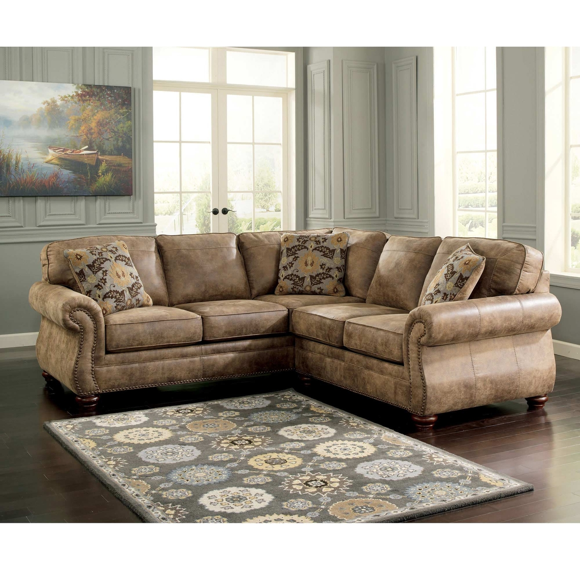 Ashley Sofas And Sectionals: Signature Design By Ashley Larkinhurst 2 Pc. Sectional Raf