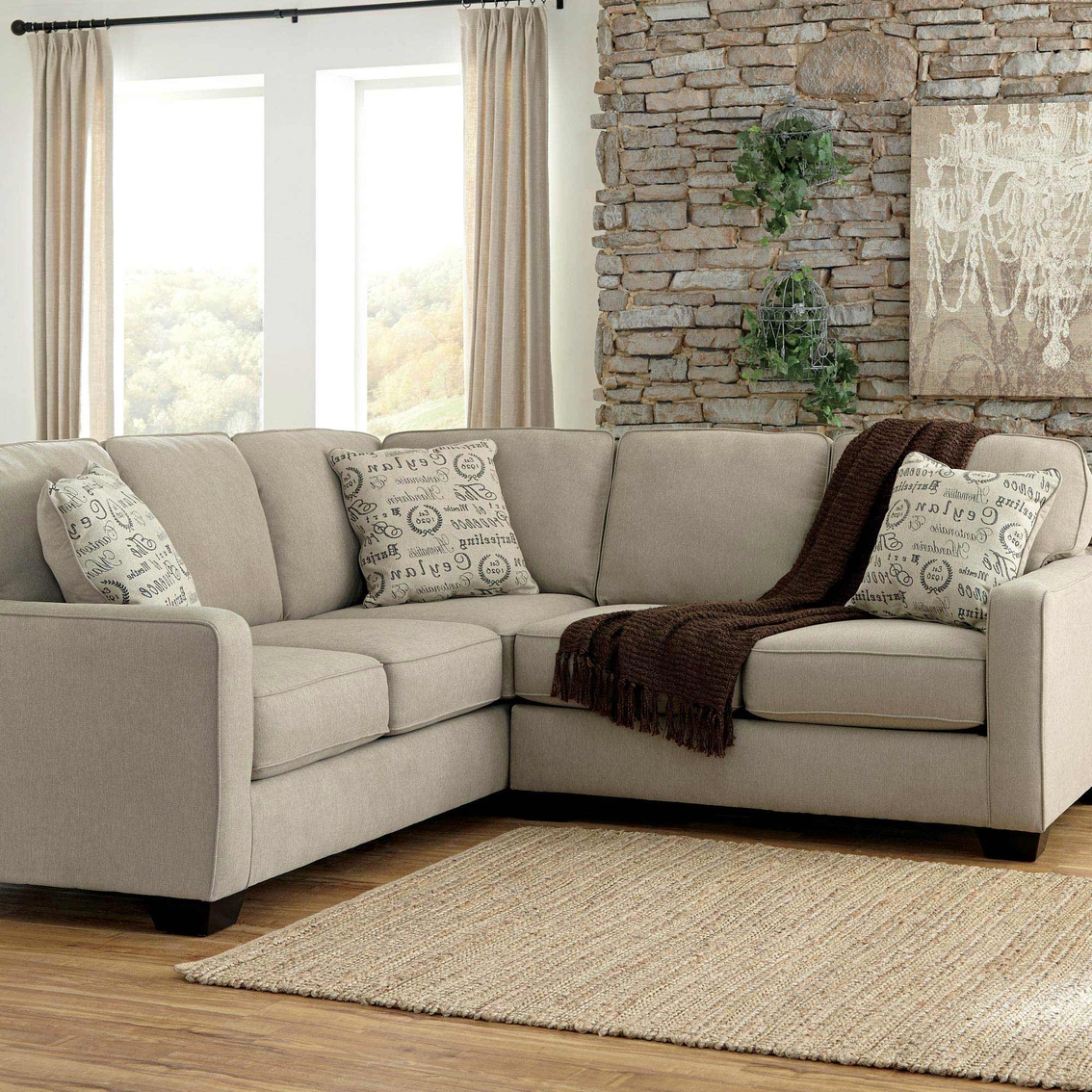 Ashley Alenya 2 Pc Sectional Sofas Amp Couches Home