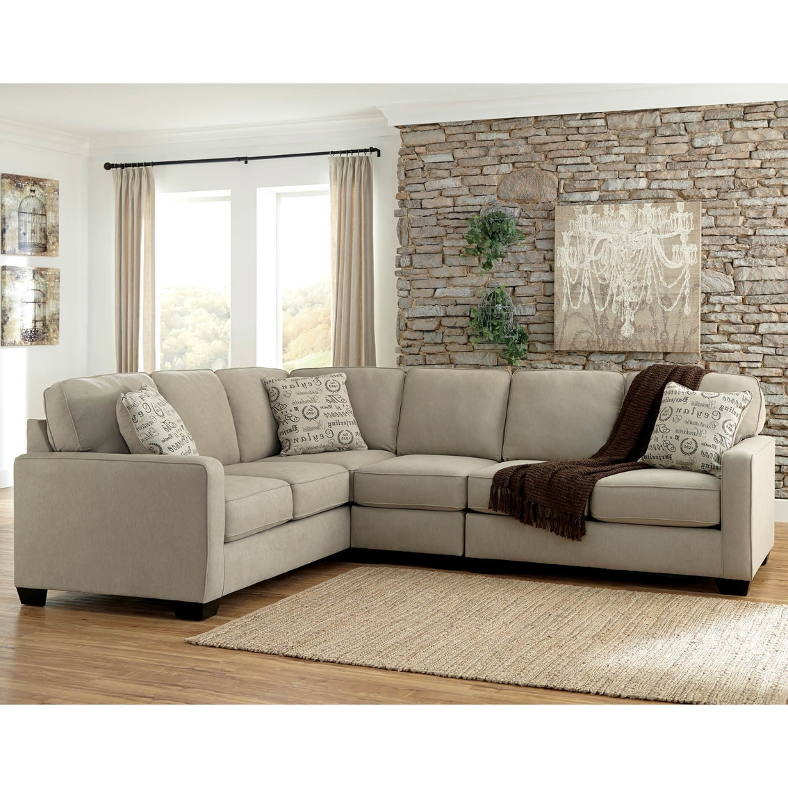 Sectional Raf Loveseat Chair Laf Sofa
