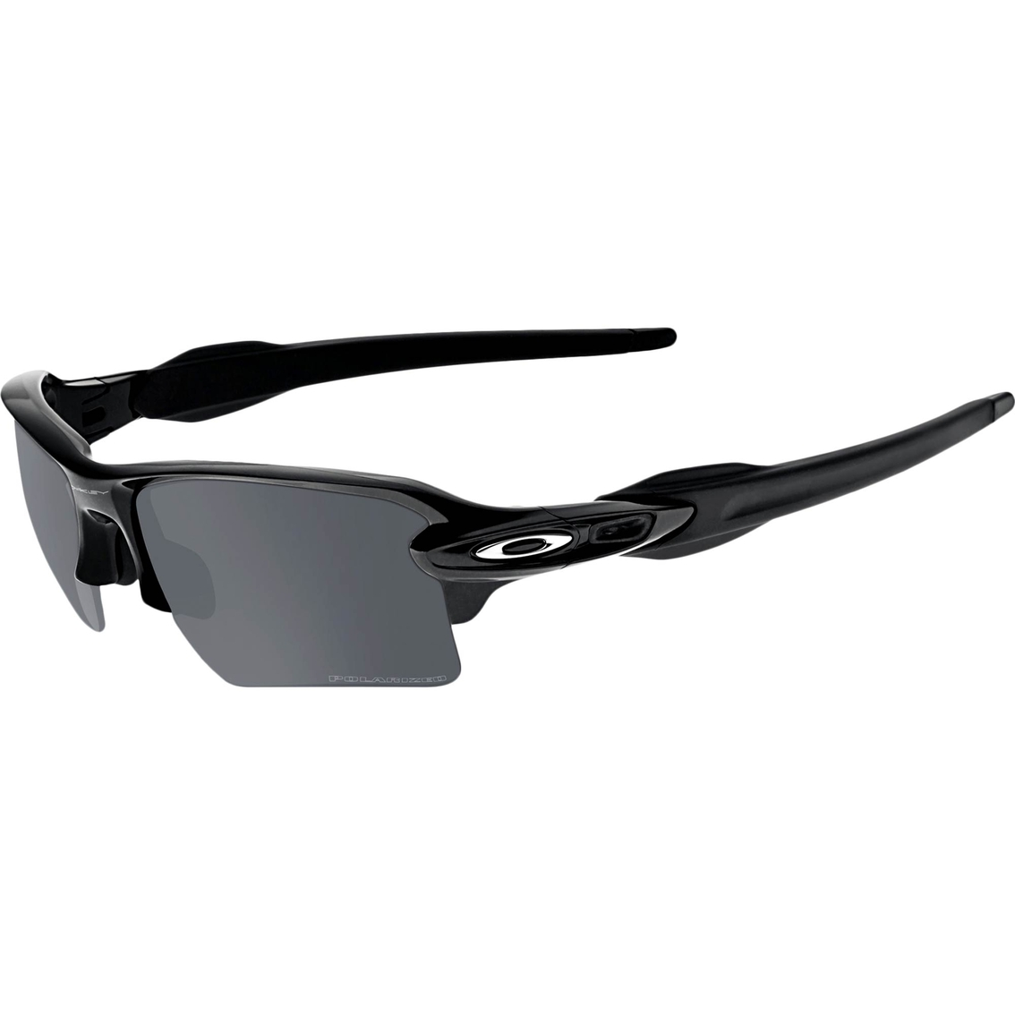 afe0c79e1a Oakley Flak 2.0 XL O Matter Rectangle Plutonite Polarized ANSI Rated  Sunglasses
