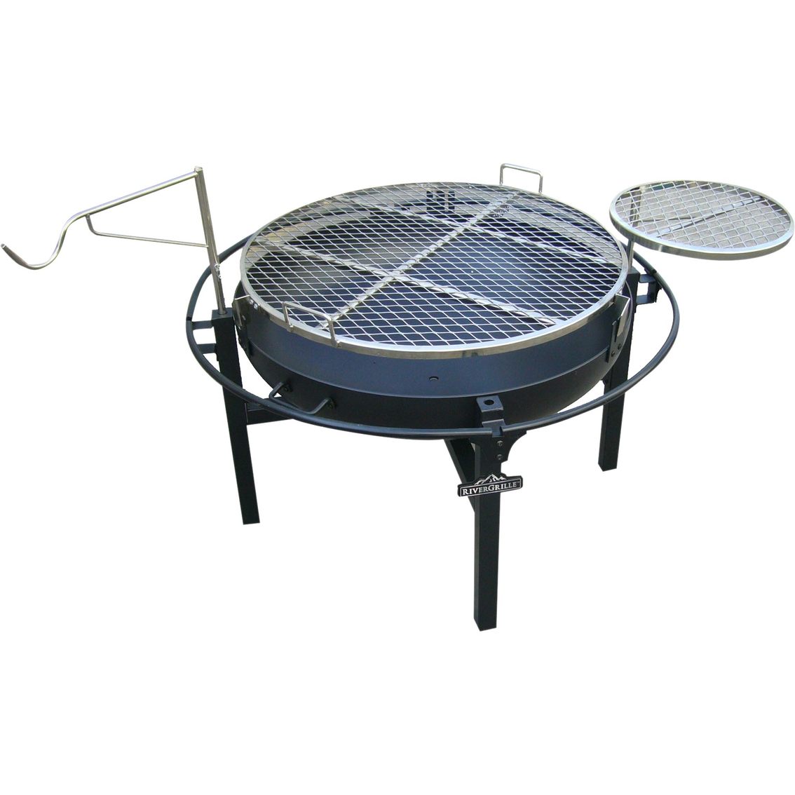 RiverGrille 31 In. Cowboy Fire Pit Grill - Rivergrille 31 In. Cowboy Fire Pit Grill Charcoal Grills More