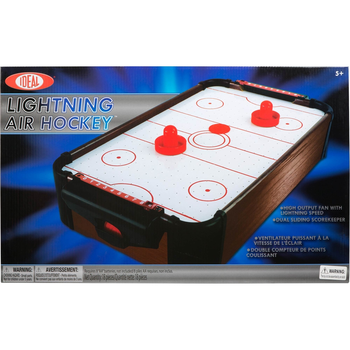 Ideal Lightning Tabletop Air Hockey