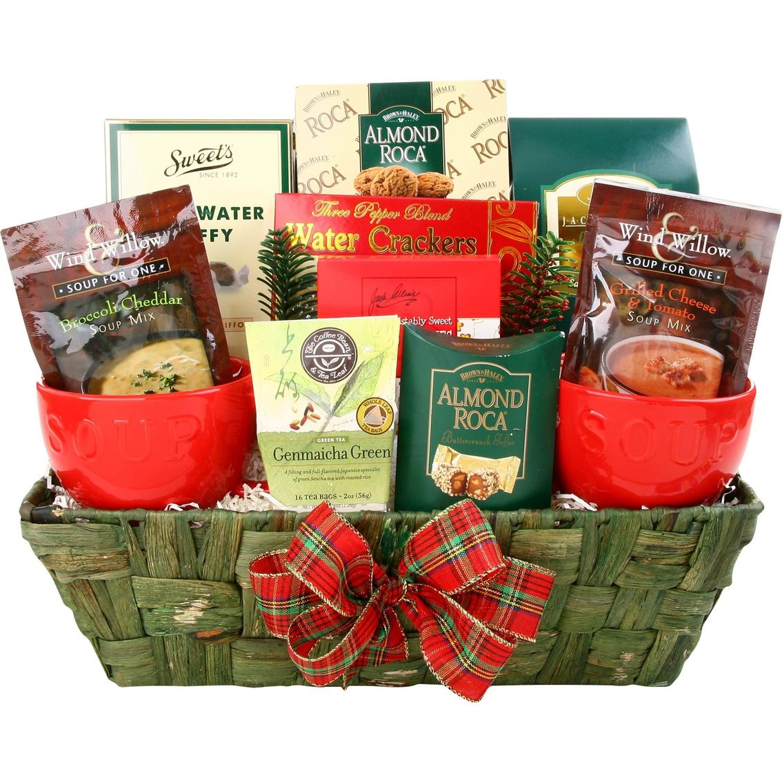 Alder Creek Gift Baskets Mini Soup Basket   Get Well   Gifts