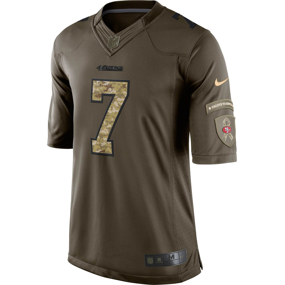 competitive price dccab deb34 Nike Nfl San Francisco 49ers Men's Colin Kaepernick Salute ...