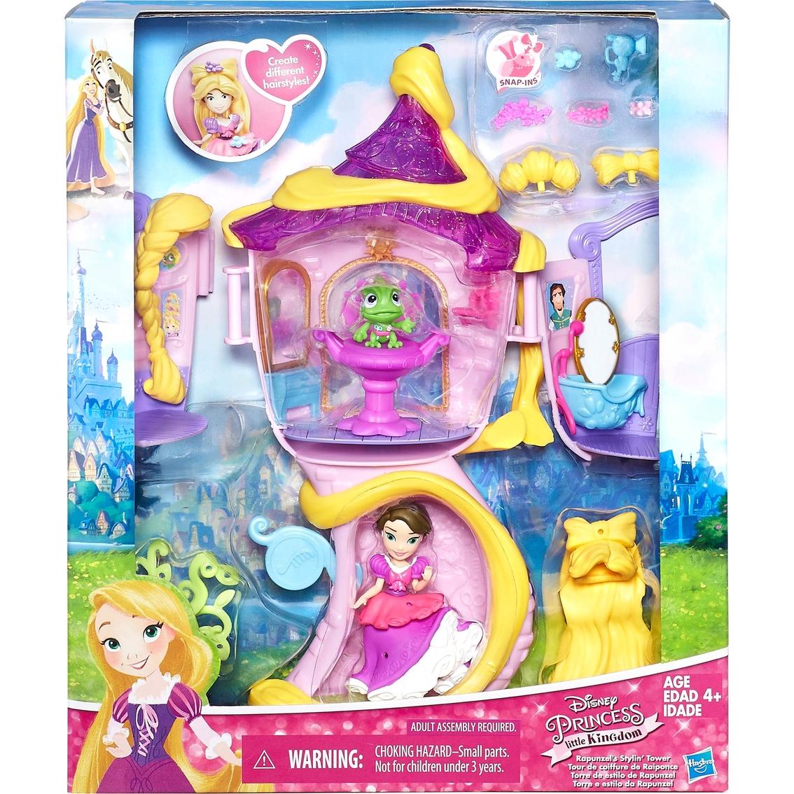Hasbro Disney Princess Little Kingdom Rapunzel's Stylin' Tower