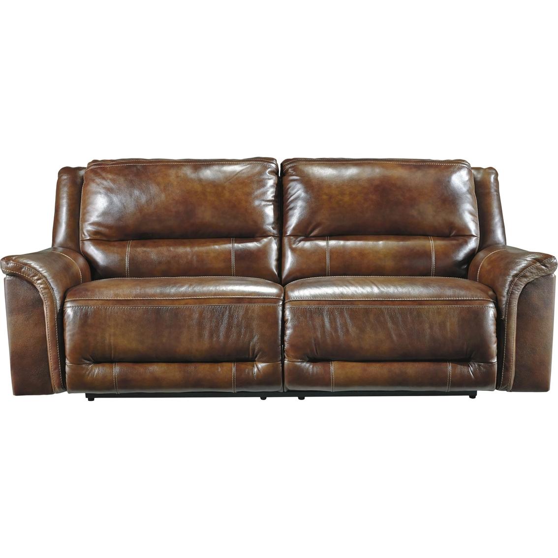 Ashley Jayron Power Leather Reclining Sofa