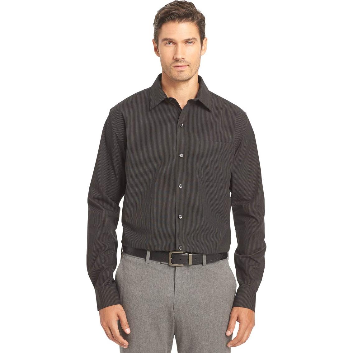 Van Heusen Sportswear No Iron Traveler Shirt Casual