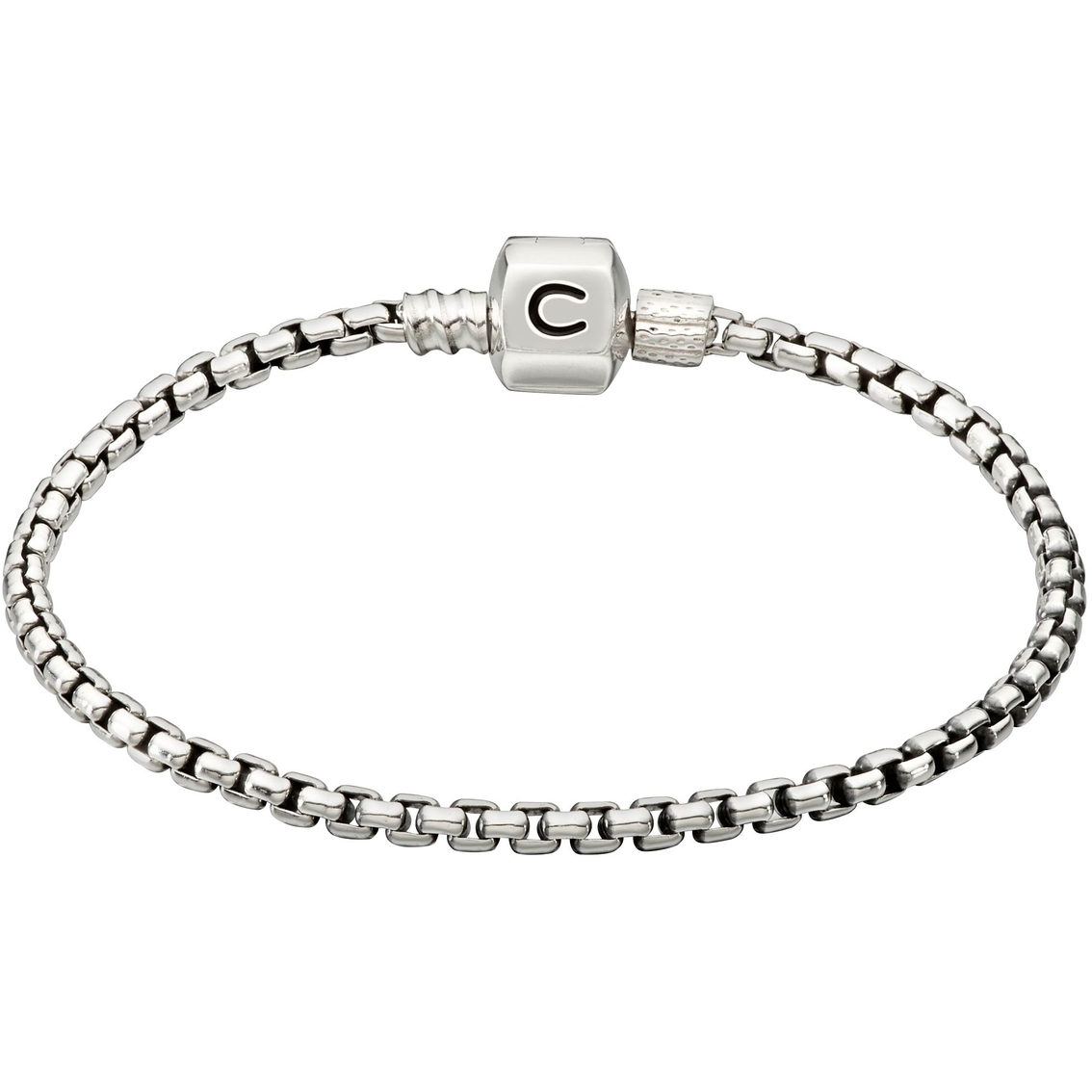 Chamilia Sterling Silver Box Chain Bracelet