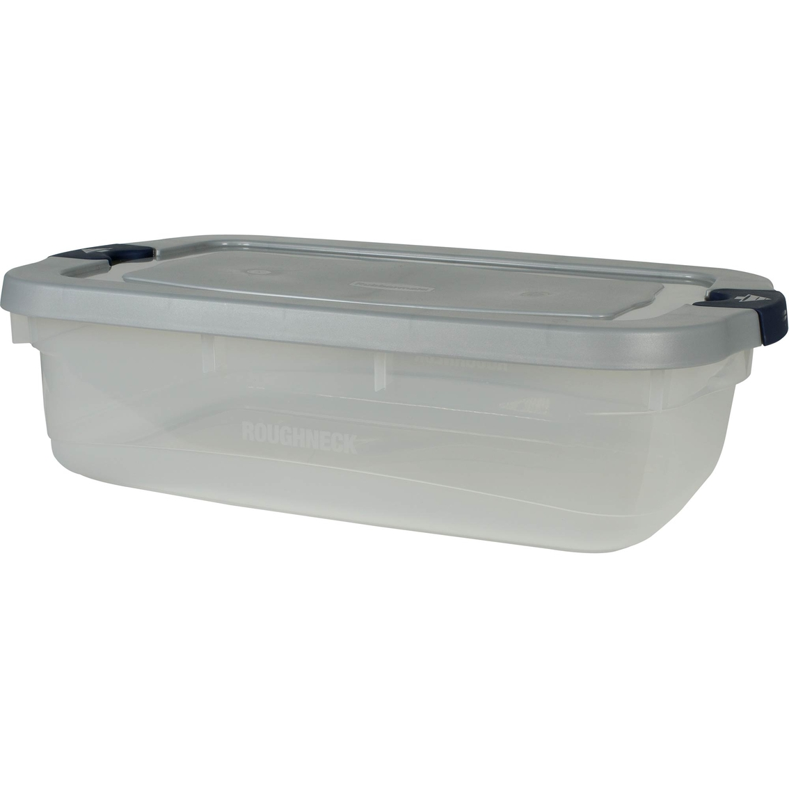 Wondrous Rubbermaid Roughneck Clear 31 Qt Latching Storage Box Caraccident5 Cool Chair Designs And Ideas Caraccident5Info
