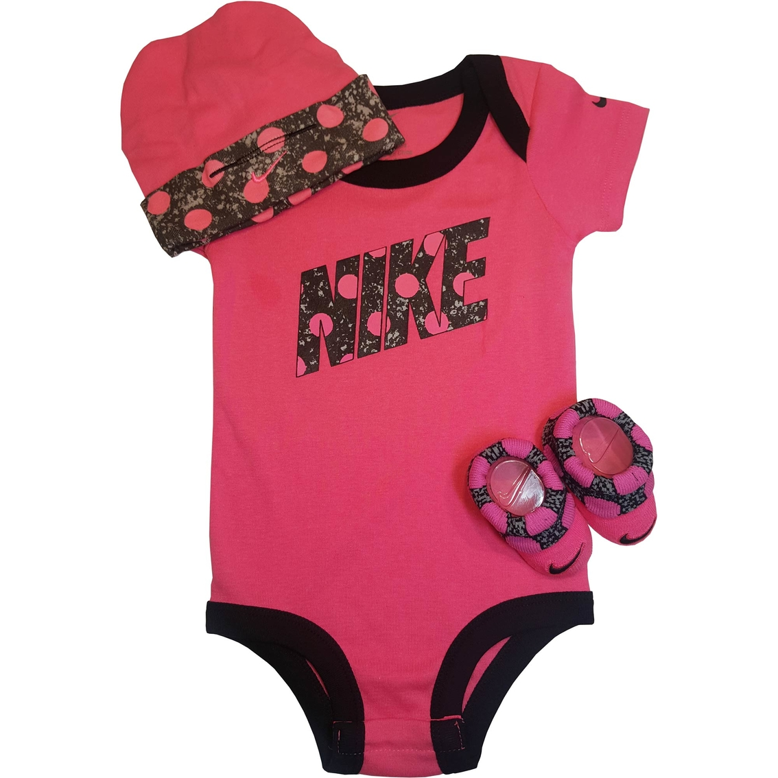 Nike Infant Girls Polka Dots 3 pc. Set